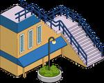 Escalier de la station