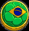 Pin's Brésil
