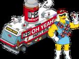 Lady Duff et Bus de fête Duff