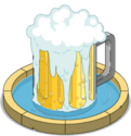 Fontaine de bière Duff