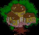 Résidence africaine arboricole