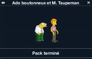 Ado boutonneux et M. Taupeman