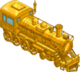 Train en or