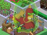 Statue Radioactive Man