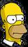 Homer Ennuyé Icon
