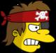 Nelson Pirate Ennuyé