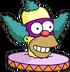 Face de Clown Content