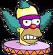 Face de Clown Menaçant