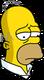 Homer Retraité Triste