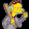 Joueur Burns Softballeur