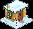 Cabane de Willie de Noël
