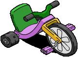 Tricycle de Bart