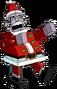 Bonhomme des cadeaux à Noël