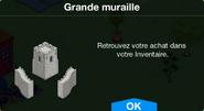 Grande muraille Inv