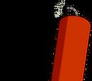 Dynamite animatronique