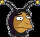 Homme abeille Triste