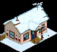 Maison de la Folle aux chats de Noël