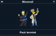 Monorail pack