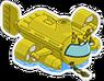 Submersible jaune Icon