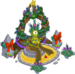 Façade festive Reine rigellienne