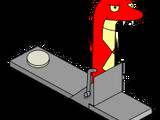 Faux serpent Ninja Homer