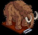 Statue de mammouth