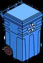 Bac de recyclage