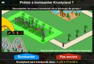 Bombardement Krustyland