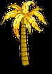 Palmier en or