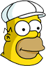 Super Big Homer Icon