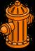 Bouche d'incendie Fierté orange