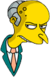 M. Burns Ennuyé