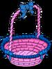 Panier d'œuf rose