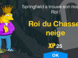 Roi du Chasse-neige