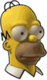 Homer 3D Icon