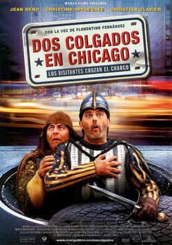 Dos colgados en Chicago - Affiche