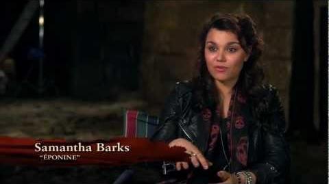 Les Misérables - On Set Samantha Barks
