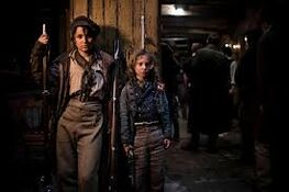Eponine and Gavroche