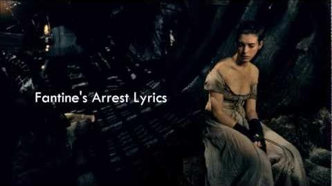 Les Misérables OST - Fantine's Arrest Lyrics