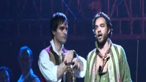 Drink with me (Les Miserables in Concert -The 25th Anniversary, O2 London, 3 Oct)