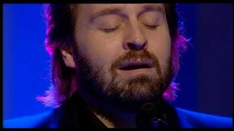 Alfie Boe singing 'Bring him home' live on QVC