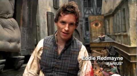 Les Misérables - On the Set with Eddie Redmayne