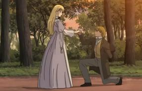 Marius Proposes to Cosette
