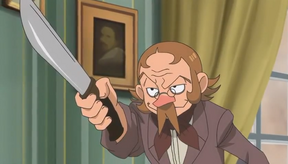 Thénardier with Knife