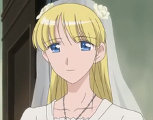 Cosette Wedding Close-Up