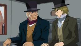 Marius & M. Gillenormand in Carriage