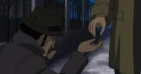 Javert in Homeless Disguise