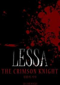 Lessa The Crimson Knight Cover