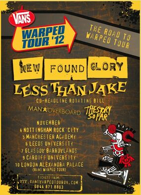 The Road To Warped Tour