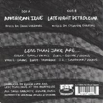 American Idle 1A Back
